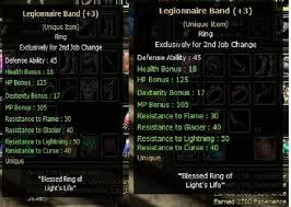 Dual  Legionnaire Band+3 2X  (Unique item)