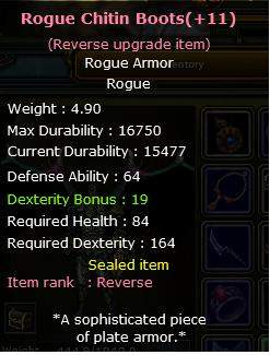 Ares +11Reb Chitin Shell boots