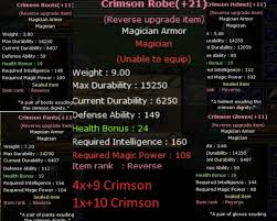 +20 Rev.  Crimson SeT